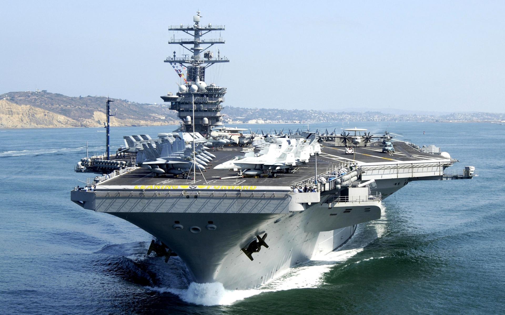 USS NIMITZ CVN-68Bild: U.S. Navy