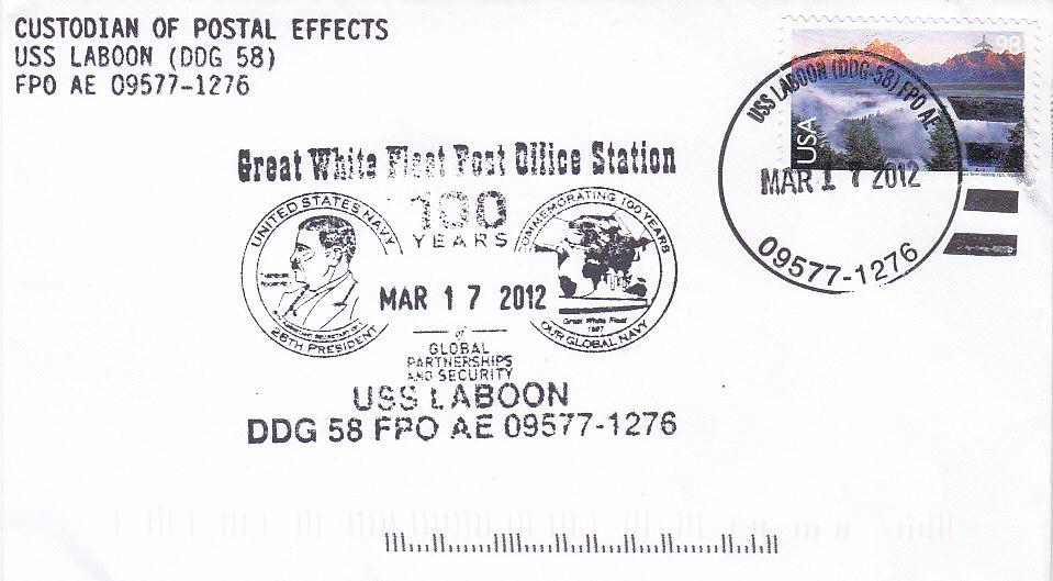 Beleg USS LABOON DDG-58