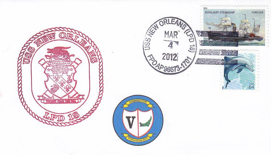 Beleg USS NEW ORLEANS LPD-18