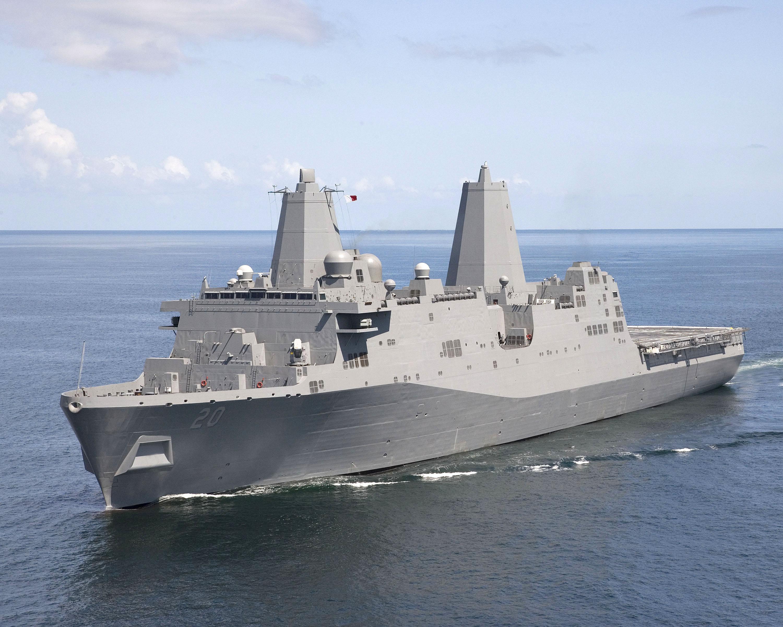 USS GREEN BAY LPD-20Bild: Northrop Grumman Shipbuilding