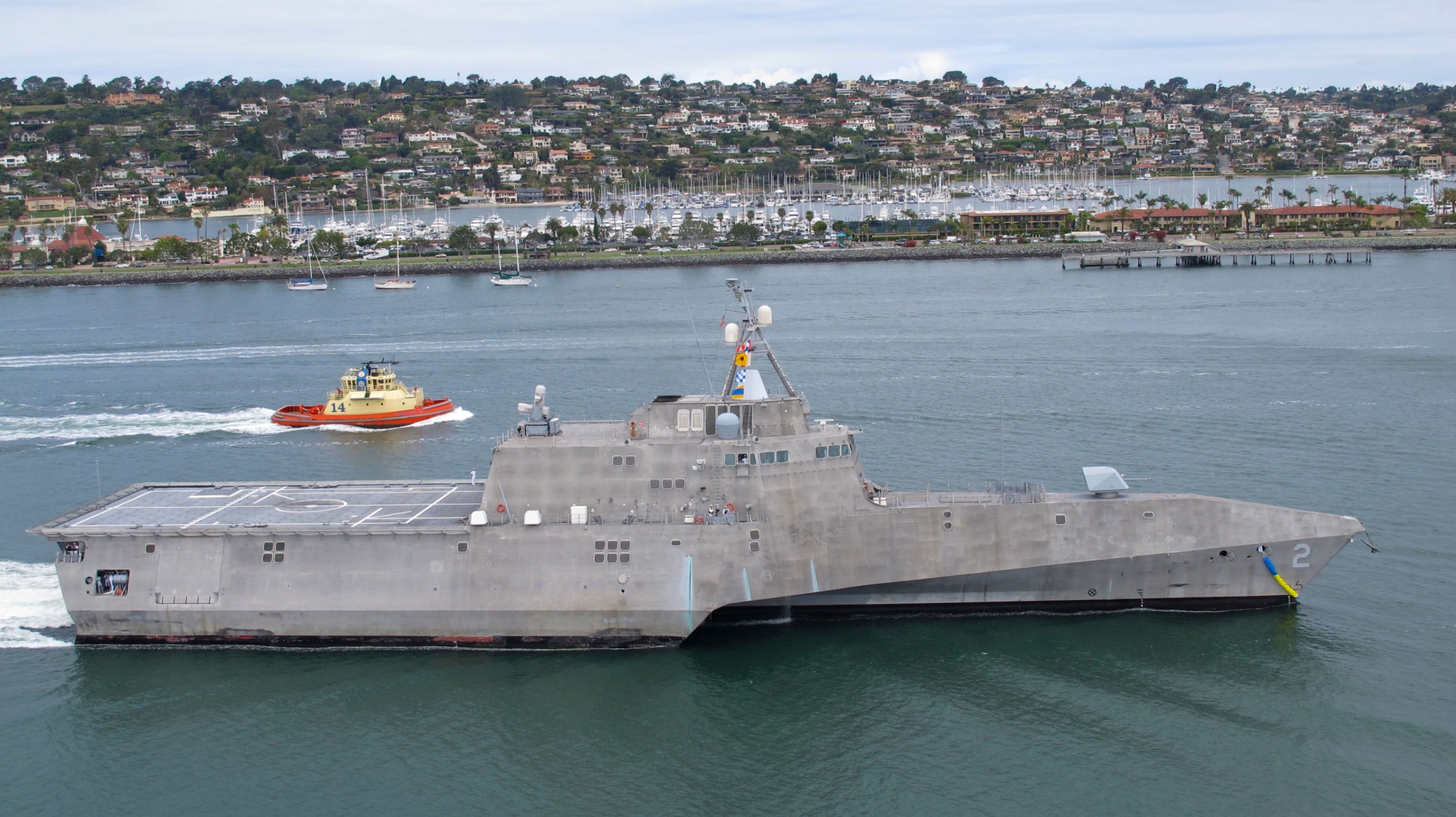 USS INDEPENDENCE LCS-2 Bild: U.S. Navy