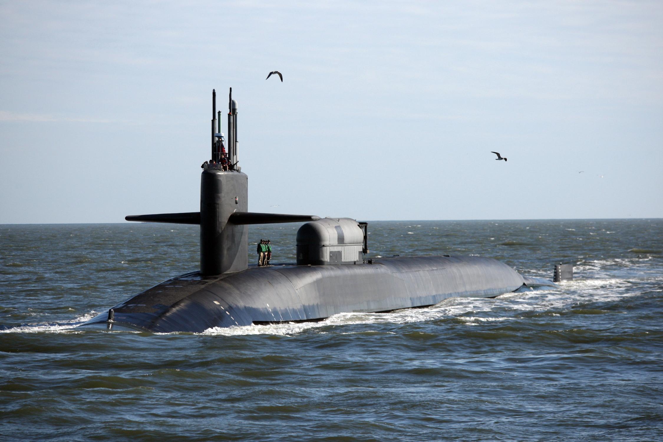 USS GEORGIA SSGN-729Bild: U.S. Navy