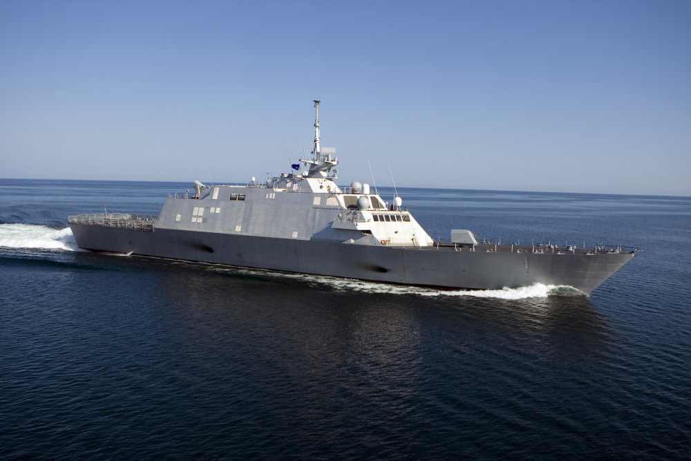 USS FREEDOM LCS-1 Bild: Lockheed Martin