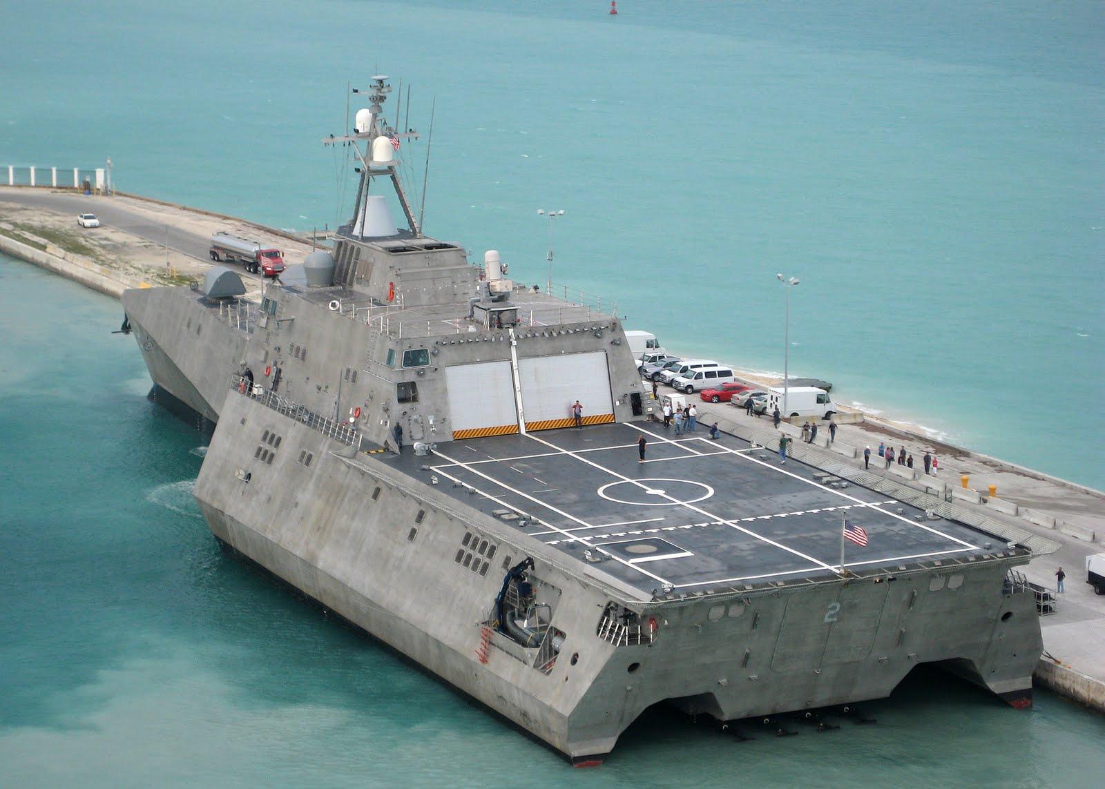 USS INDEPENDENCE LCS-2Bild: U.S. Navy