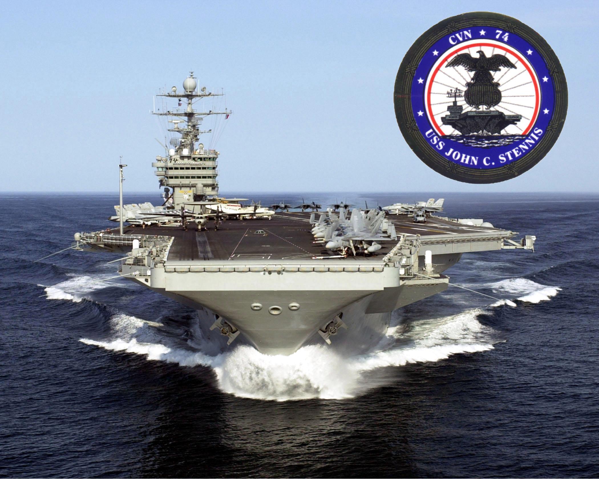 USS JOHN C. STENNIS CVN-74 Bild: U.S. Navy