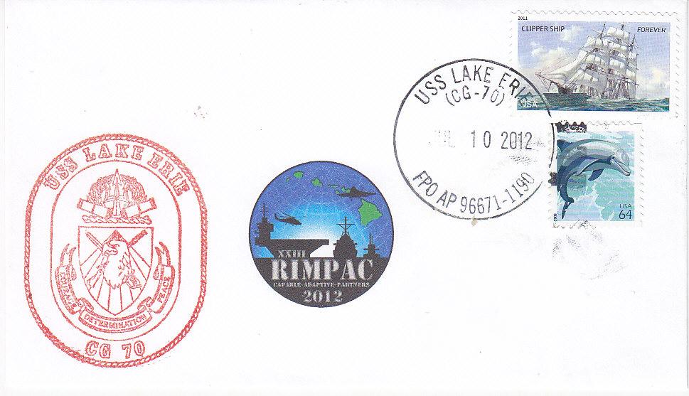 Beleg USS LAKE ERIE CG-70 RIMPAC