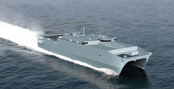 USNS SPEARHEAD T-EPF 1Grafik: Austal USA