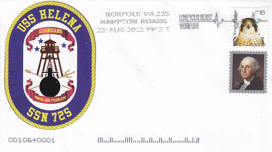 Beleg USS HELENA SSN-725