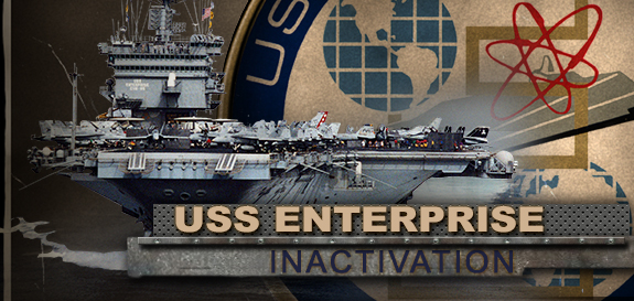 USS ENTERPRISE CVN-65 InactivationGrafik: U.S. Navy