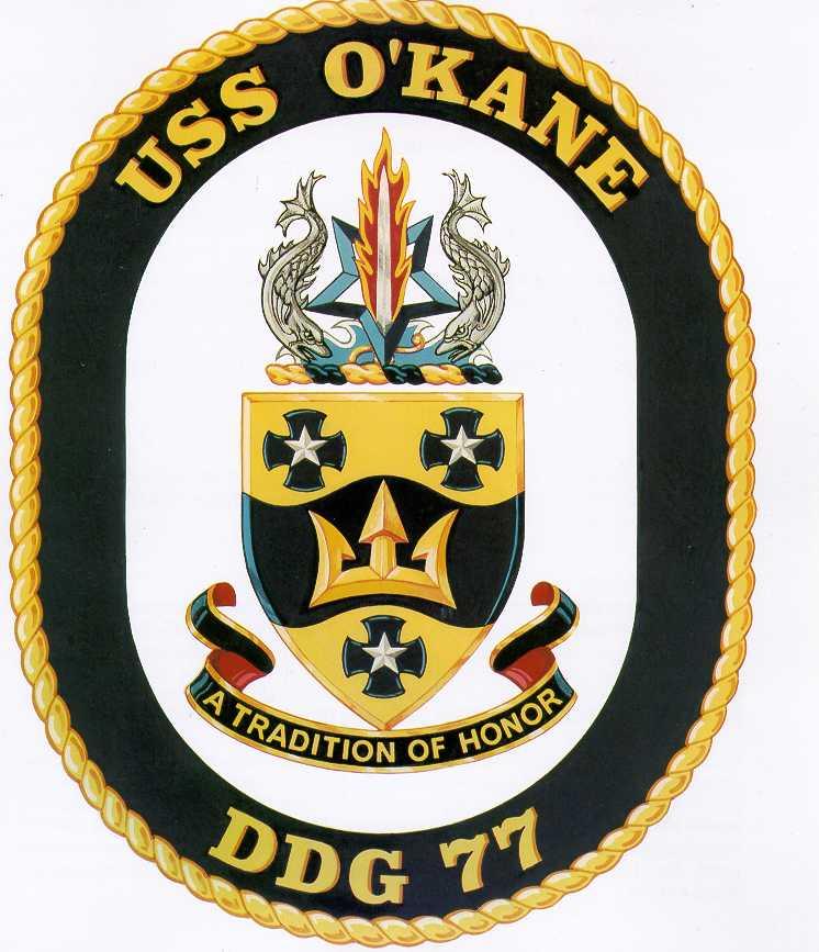 USS O`KANE DDG-77 SealGrafik: U.S. Navy