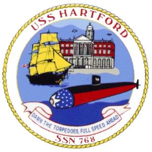 USS HARTFORD SSN-768 SealGrafik: U.S. Navy