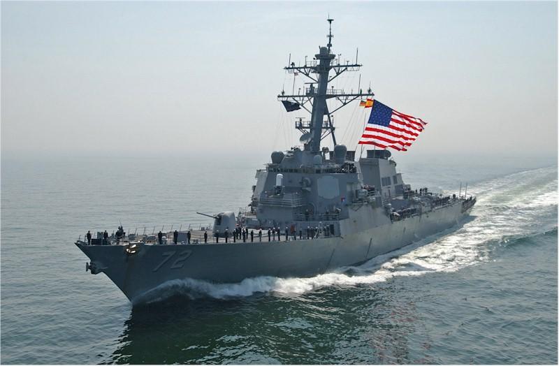 USS MAHAN DDG-72Bild: U.S. Navy