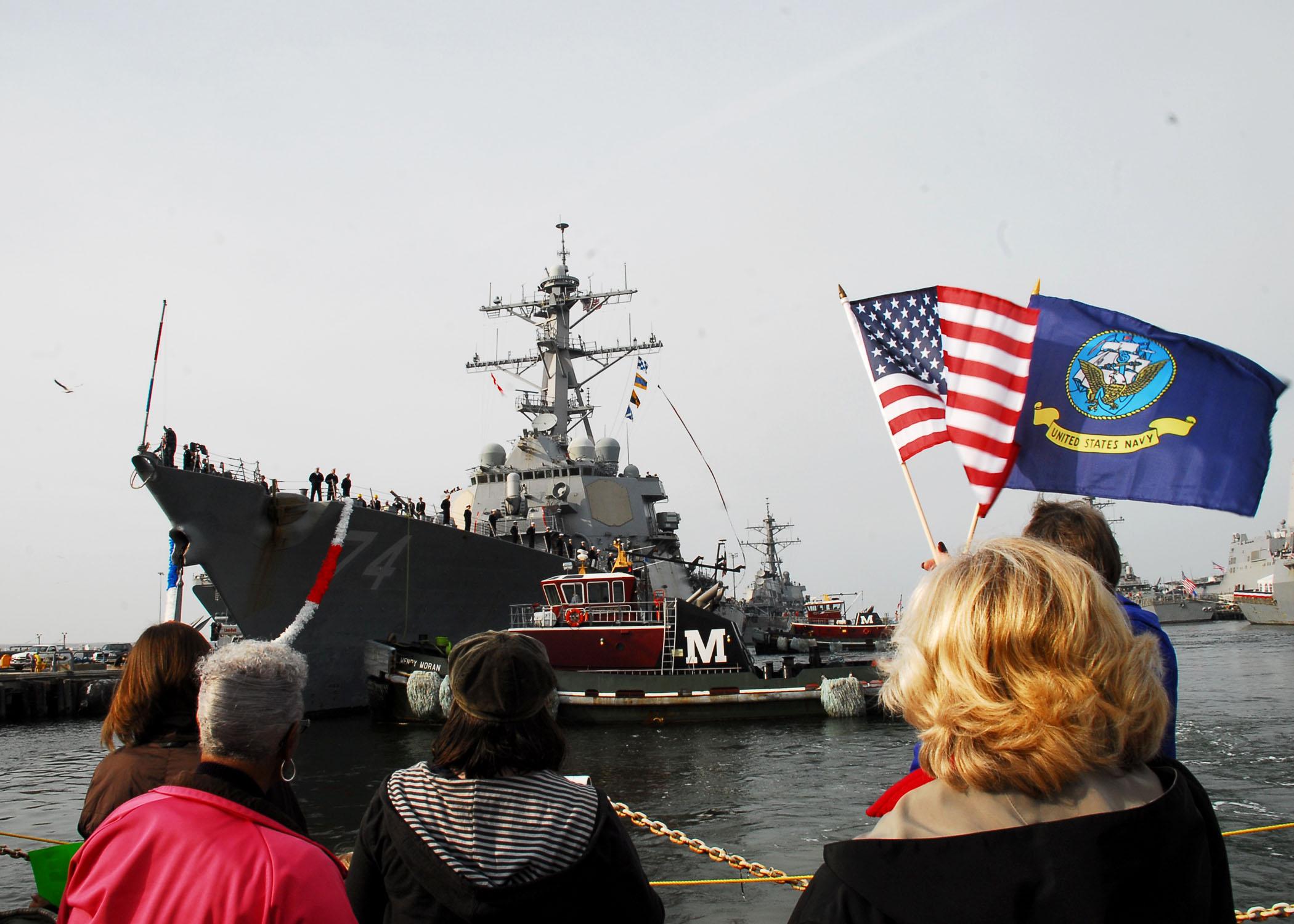 USS McFAUL DDG-74 02.12.2012  NorfolkBild: U.S. Navy