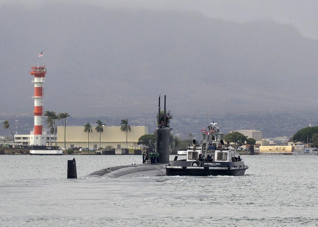 USS CHEYENNE SSN-773 Auslaufen Pearl Harbor 13.12.2012Bild: U.S. Navy