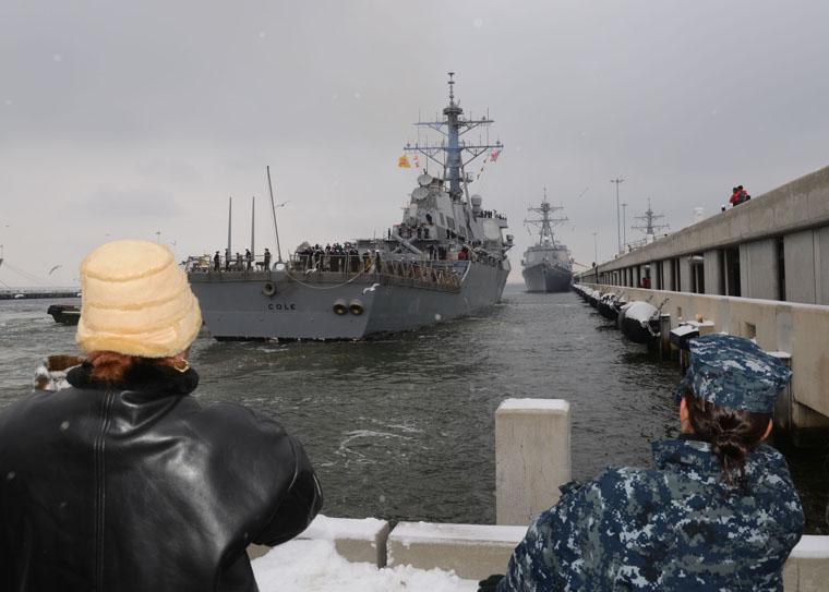 USS COLE DDG-67 26.01.2013Bild: U.S. Navy
