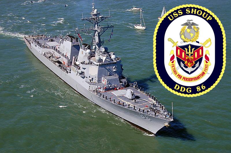 USS SHOUP DDG-86Bild und Grafik: U.S. Navy