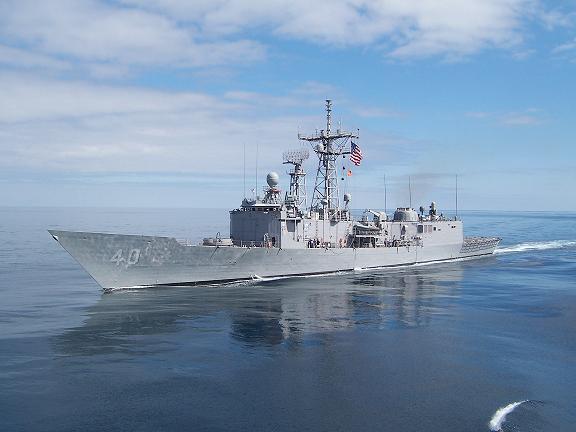 USS HALYBURTON FFG-40Bild: U.S. Navy