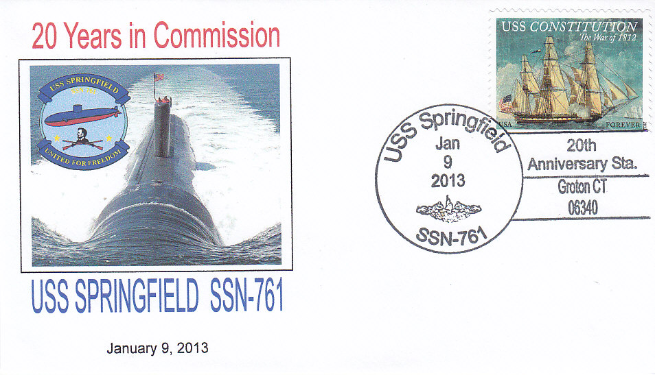 USS SPRINGFIELD SSN-761 20th