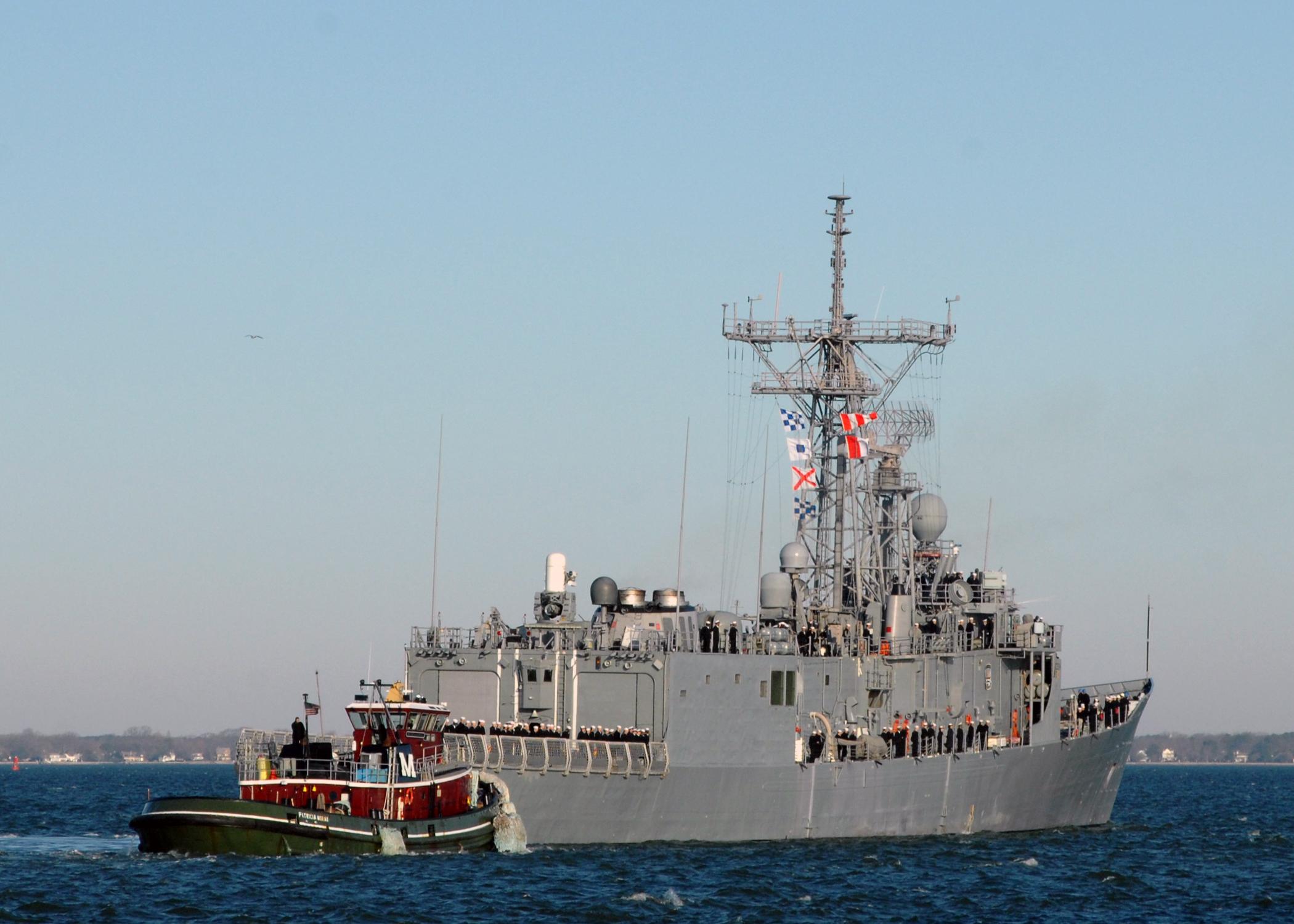 USS NICHOLAS FFG-47 am 20.01.2013Bild: U.S. Navy