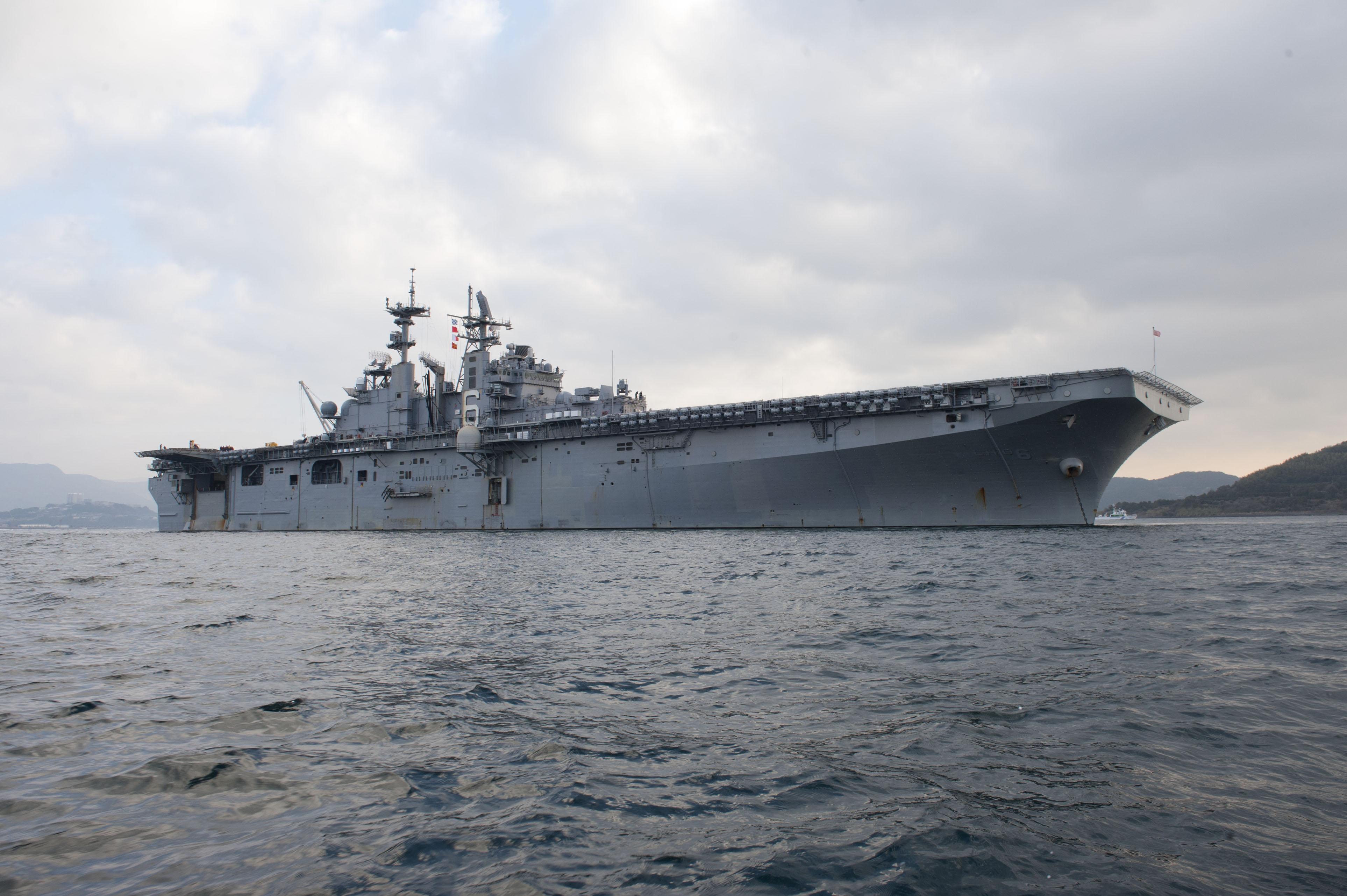 USS BONHOMME RICHARD LHD-6 24.01.2013 Bild: U.S. Navy