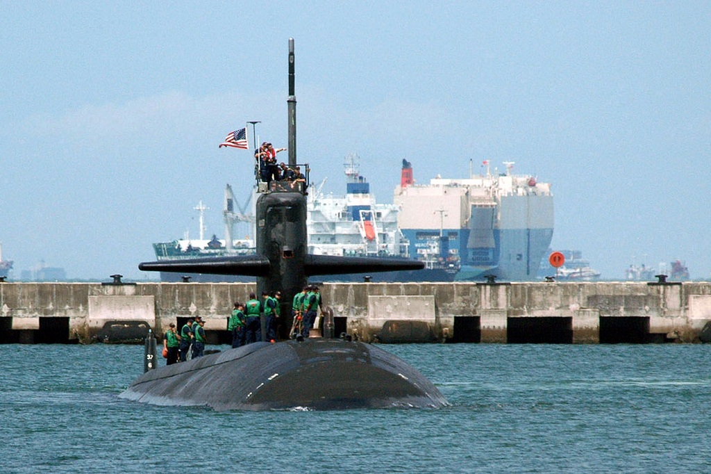 USS BUFFALO SSN-715Bild: U.S. Navy