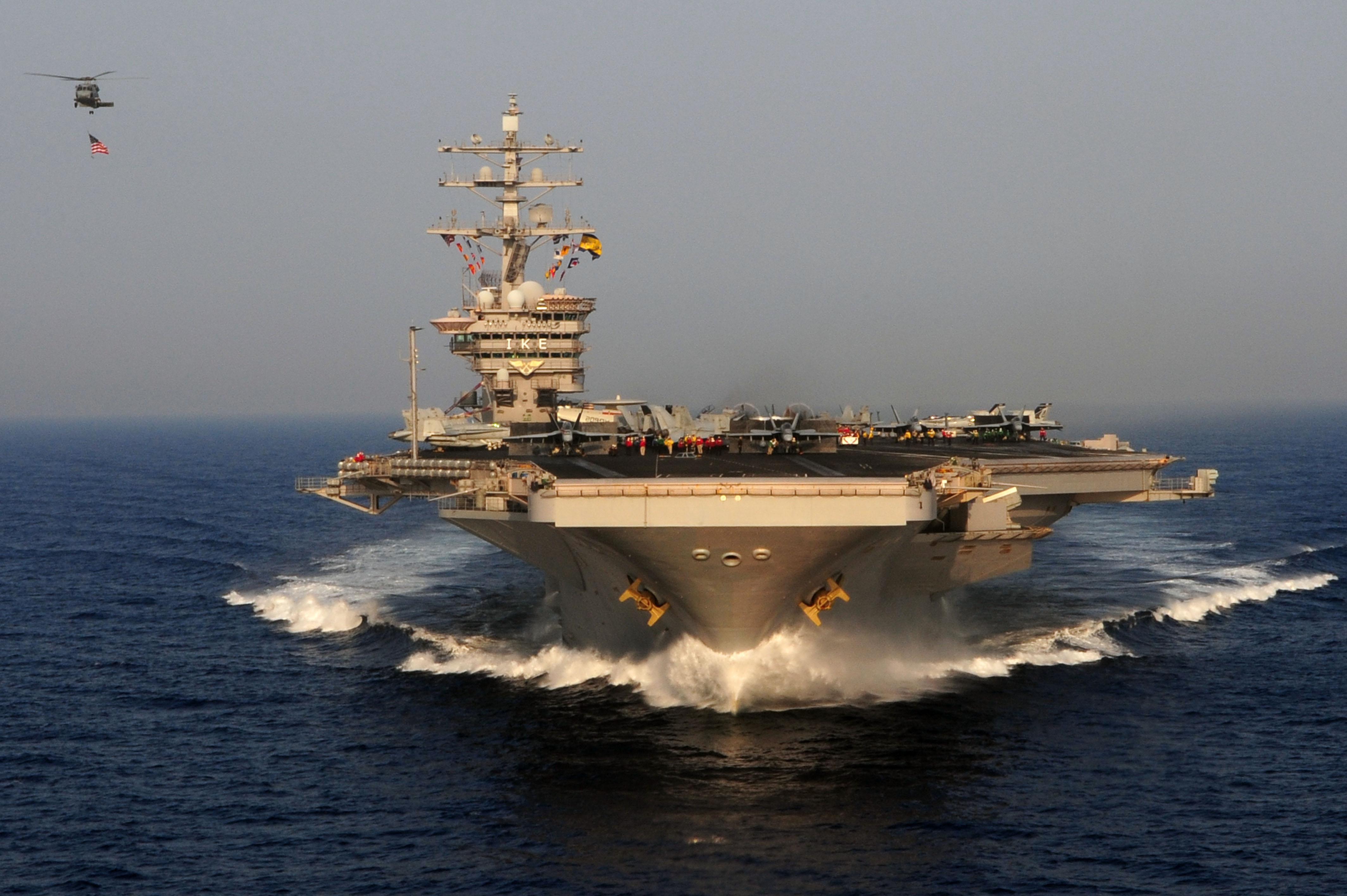USS DWIGHT D. EISENHOWER CVN-69 Bild: U.S. Navy