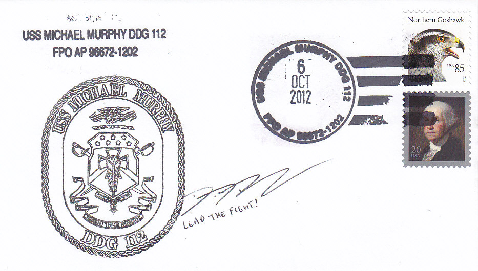 Beleg USS MICHAEL MURPHY DDG-112 Commissioning