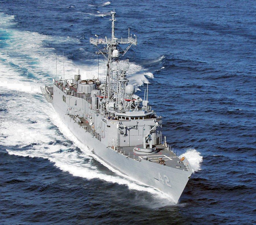 USS KLAKRING FFG-42Bild: U.S. Navy