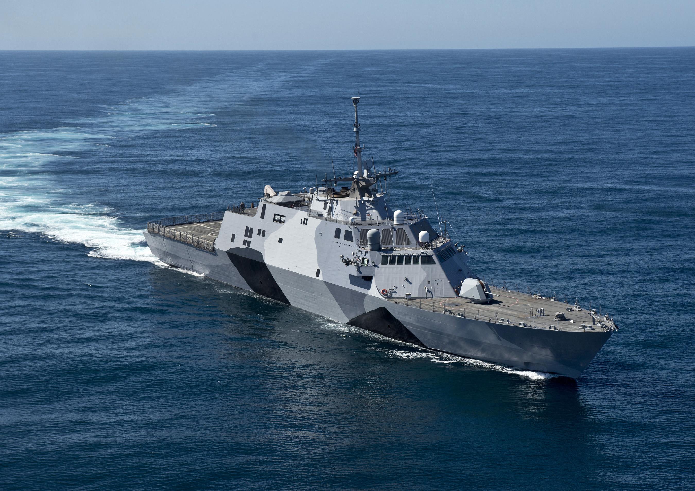 USS FREEDOM LCS-1Bild: U.S. Navy