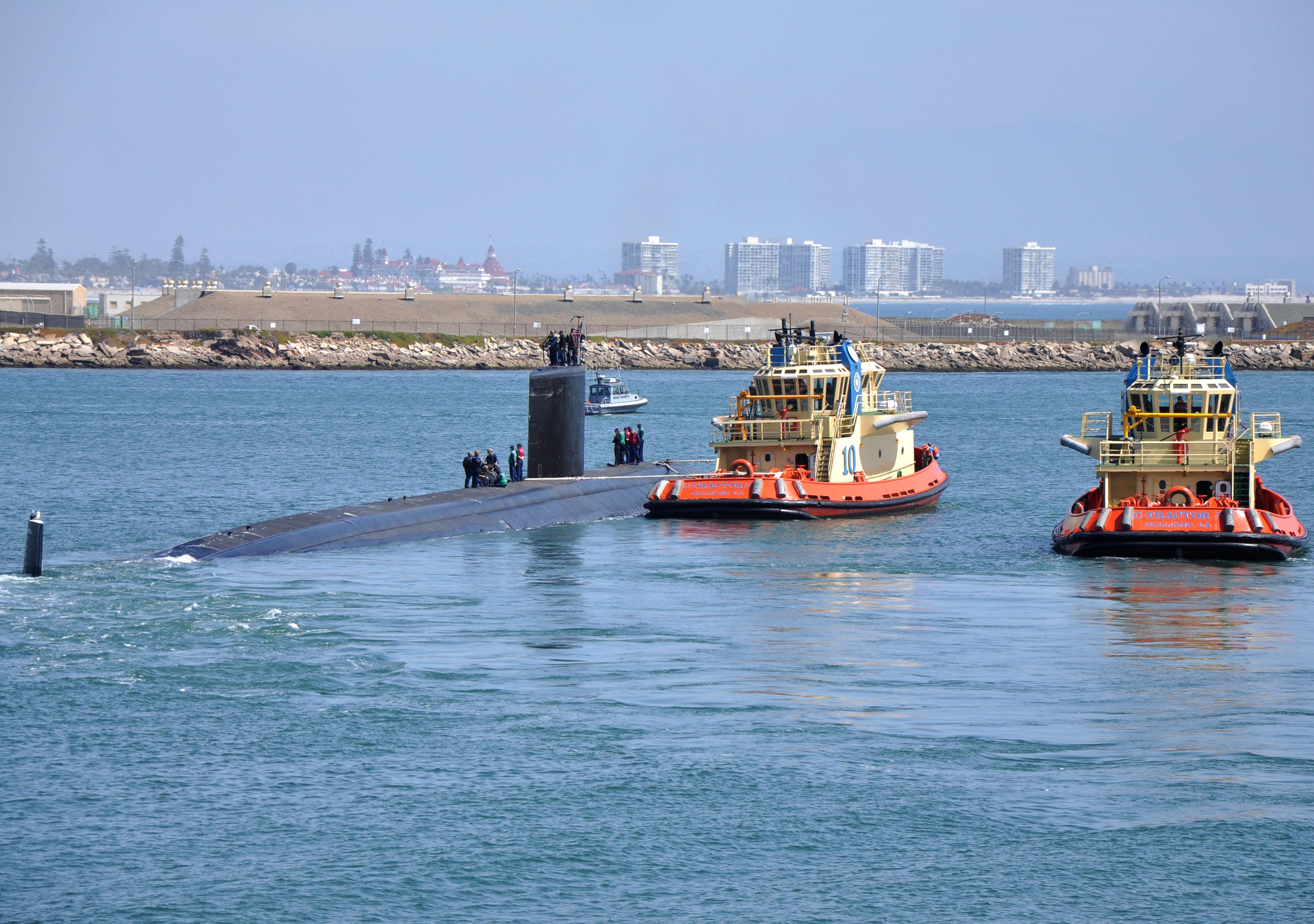 USS ASHEVILLE SSN-758 Auslaufen San Diego 26.03.2013Bild: U.S. Navy
