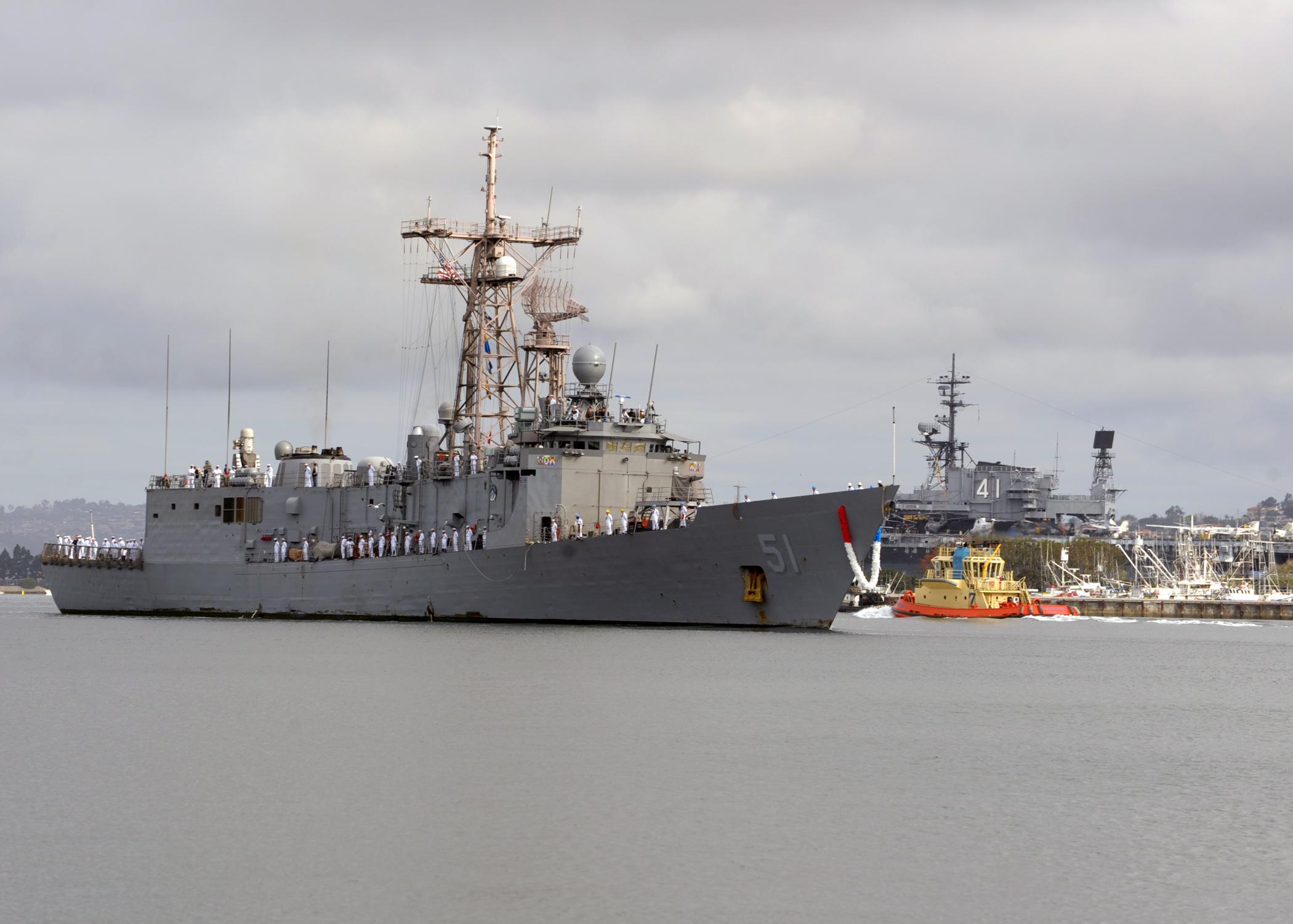 USS GARY FFG-51 San Diego 05.04.2013Bild: U.S. Navy