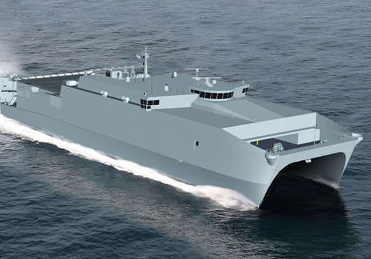 Grafische Darstellung Joint High Speed VesselGrafik: Austal USA