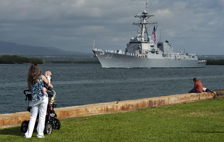 USS CHUNG-HOON DDG-93 Pearl Harbor 02.04.2013Bild: U.S. Navy