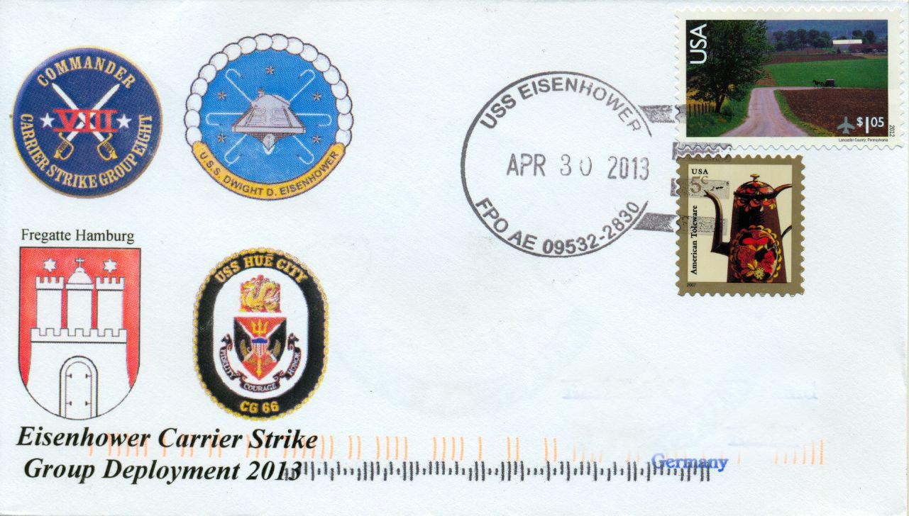 Beleg USS EISENHOWER CARRIER STRIKE GROUP von Karl Friedrich Weyland