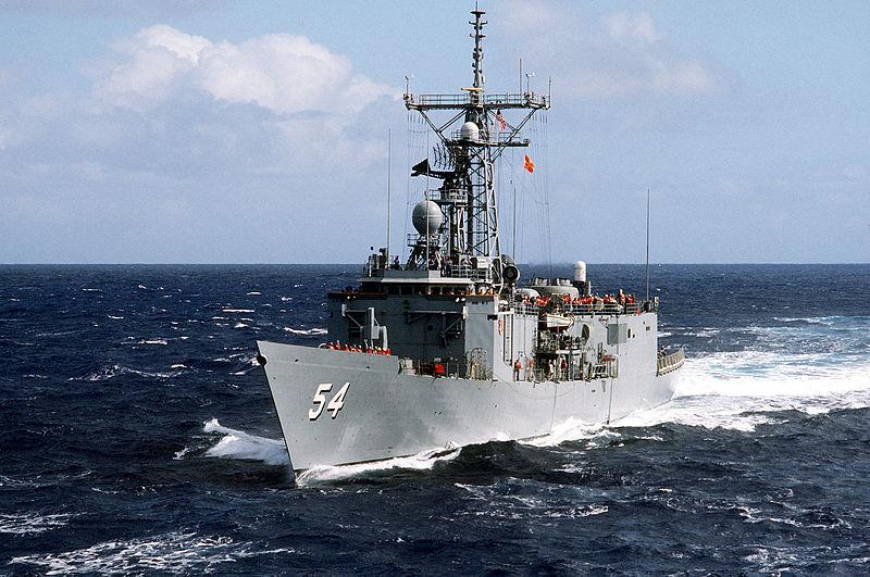 USS FORD FFG-54Bild: U.S. Navy