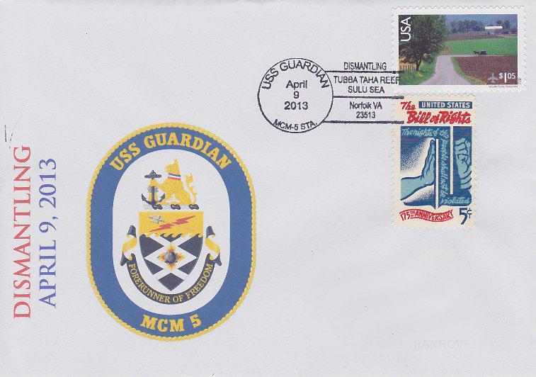 Beleg USS GUARDIAN MCM-5 Dismantlingvon Daniel Gornig