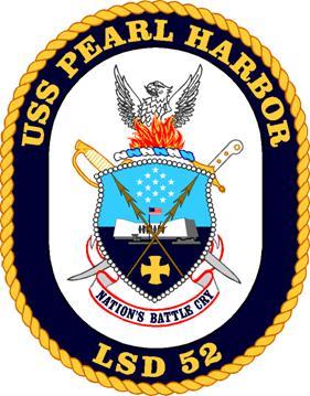 USS PEARL HARBOR LSD-52 SealGrafik: U.S. Navy