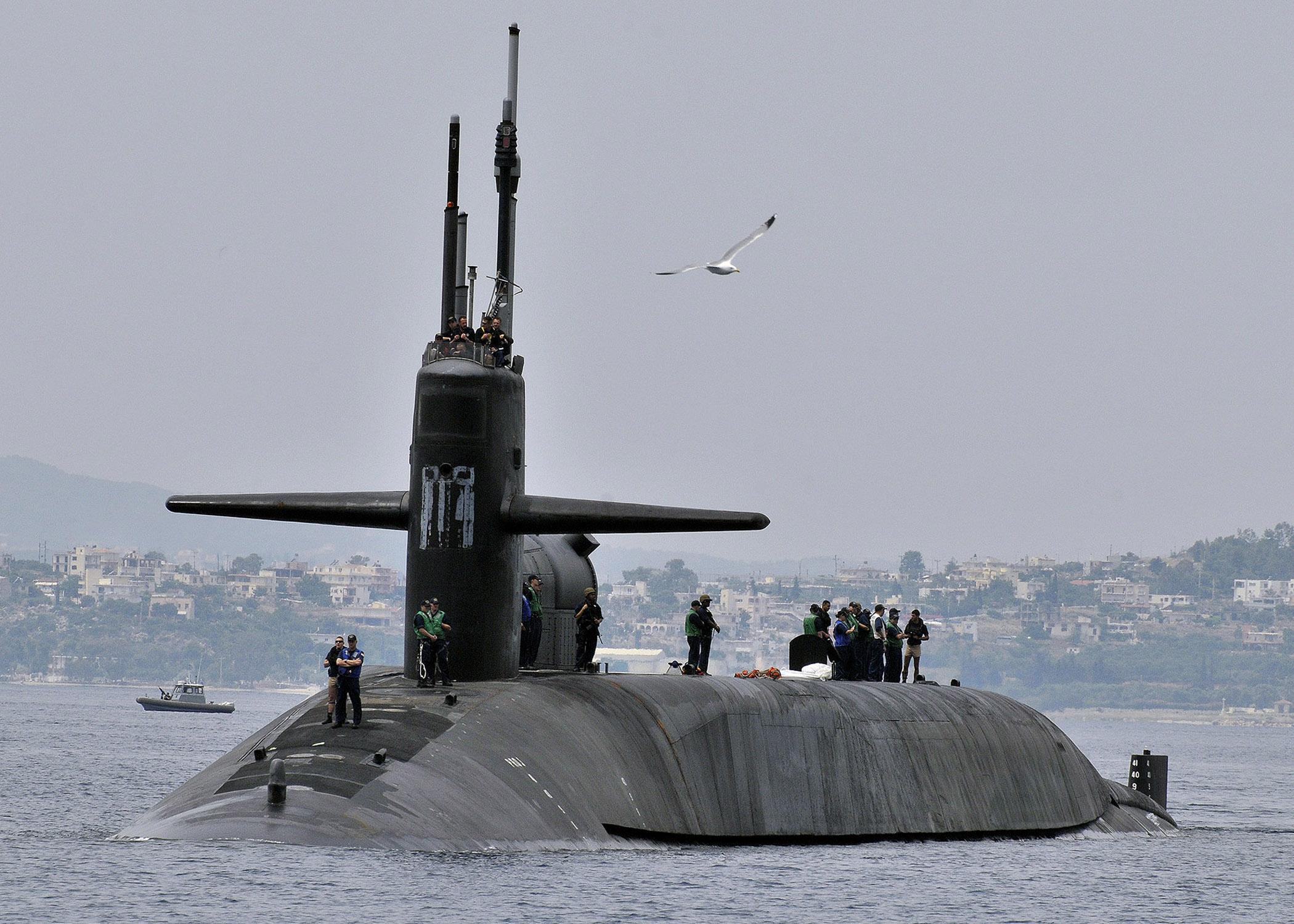 USS GEORGIA SSGN-729 am 16.05.2013 Souda, Kreta