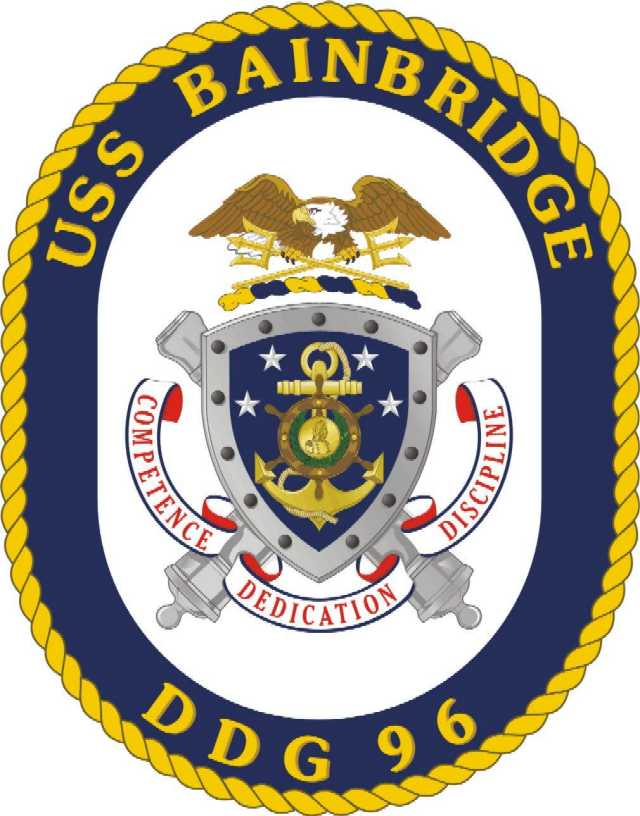 USS BAINBRIDGE DDG-96 SealGrafik: U.S. Navy