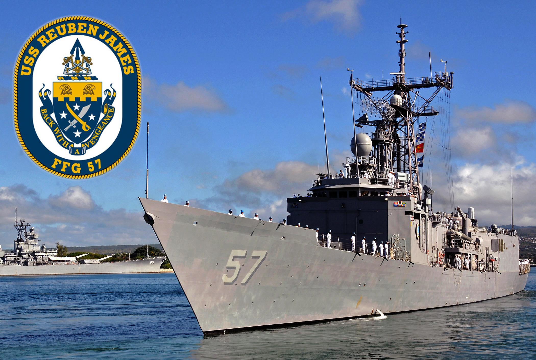 USS REUBEN JAMES FFG-57Bild: U.S. Navy