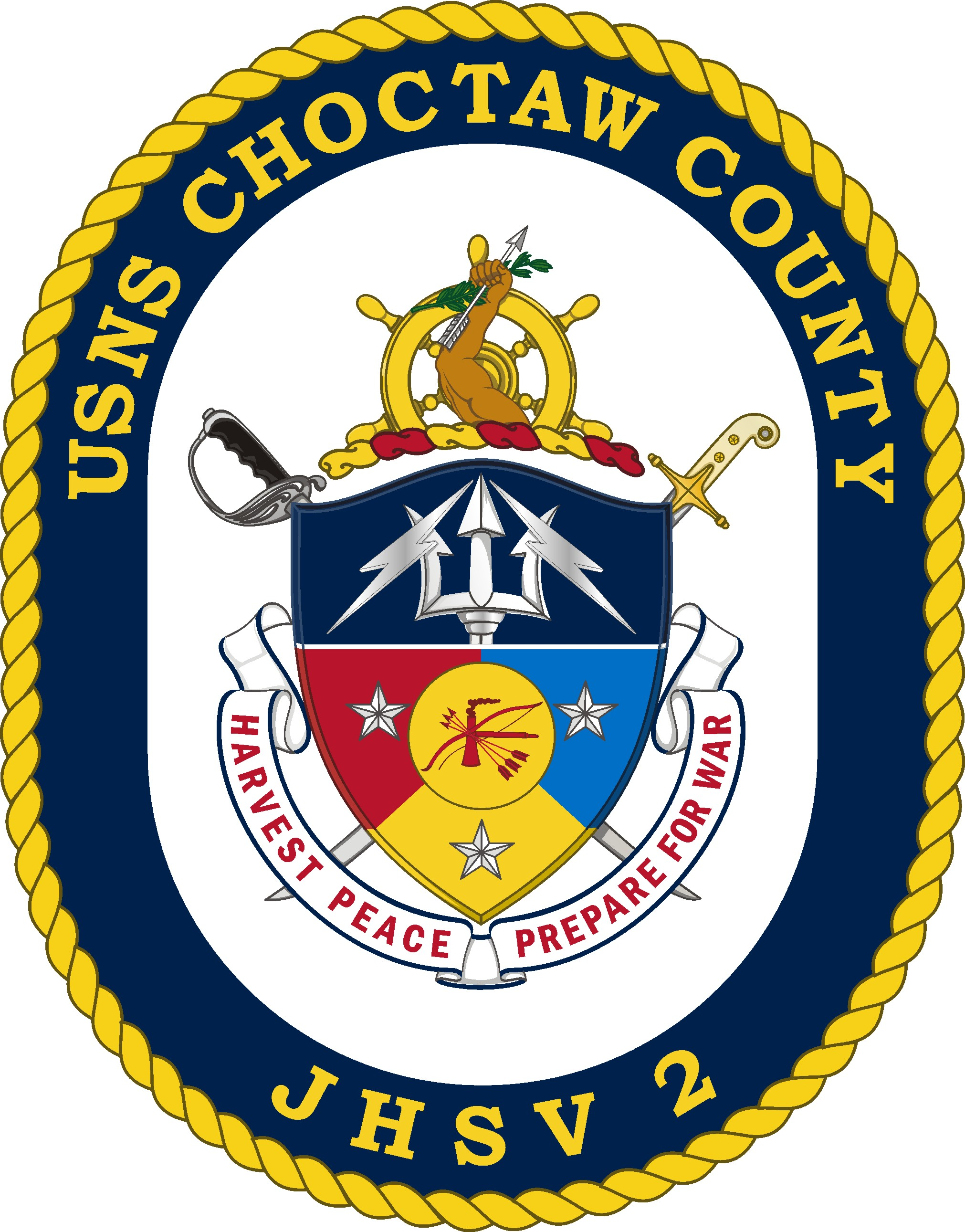 USNS CHOCTAW COUNTY JHSV-2 SealGrafik: U.S. Navy