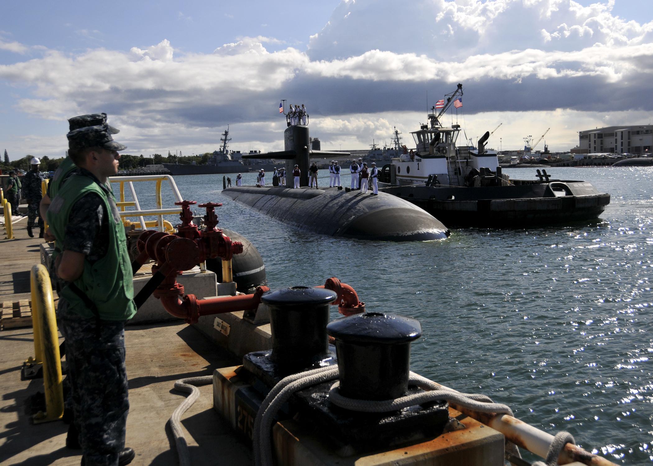 USS BREMERTON SSN-698 Einlaufen Pearl Harbor am 30.05.2013Bild: U.S. Navy