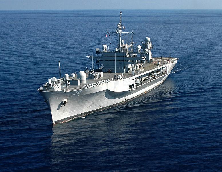 USS MOUNT WHITNEY LCC-20Bild: U.S. Navy