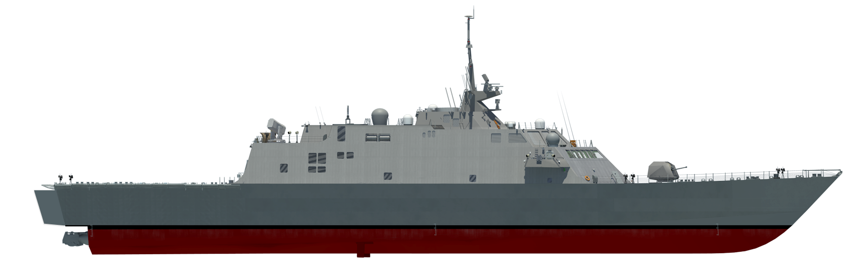 Grafik LCS FREEDOM-Class Grafik: U.S. Navy