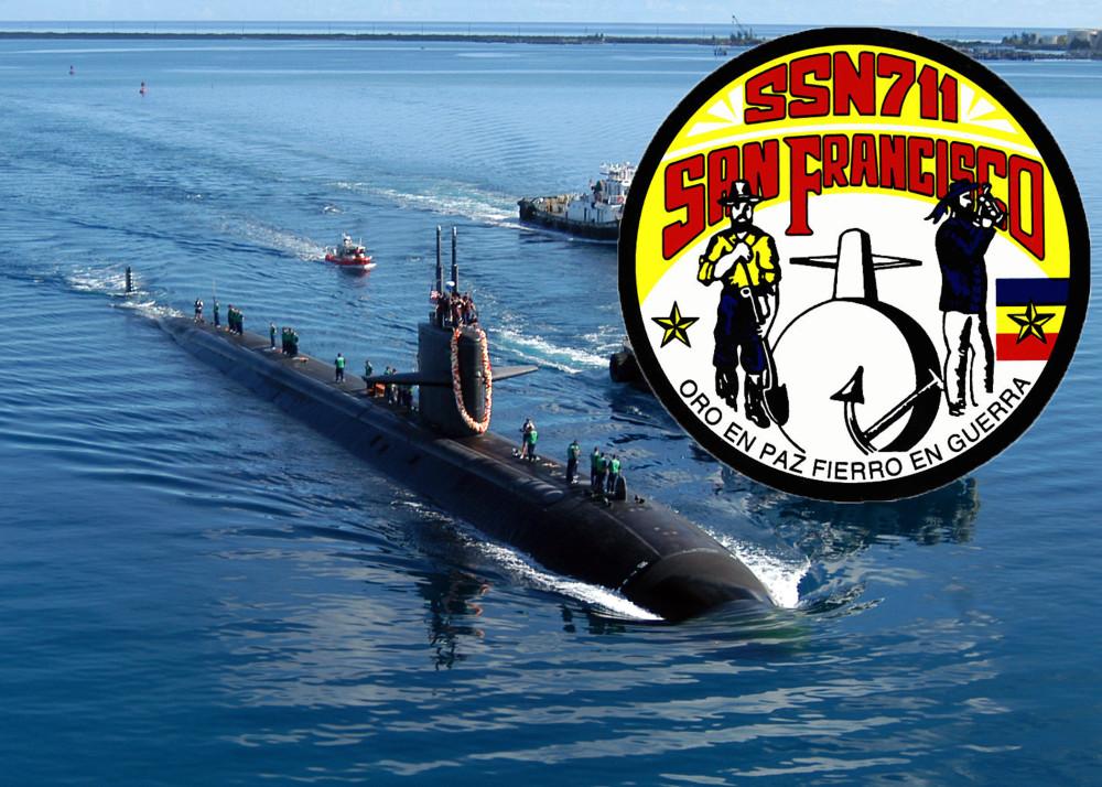 USS SAN FRANCISCO SSN-711 Bild und Grafik: U.S. Navy