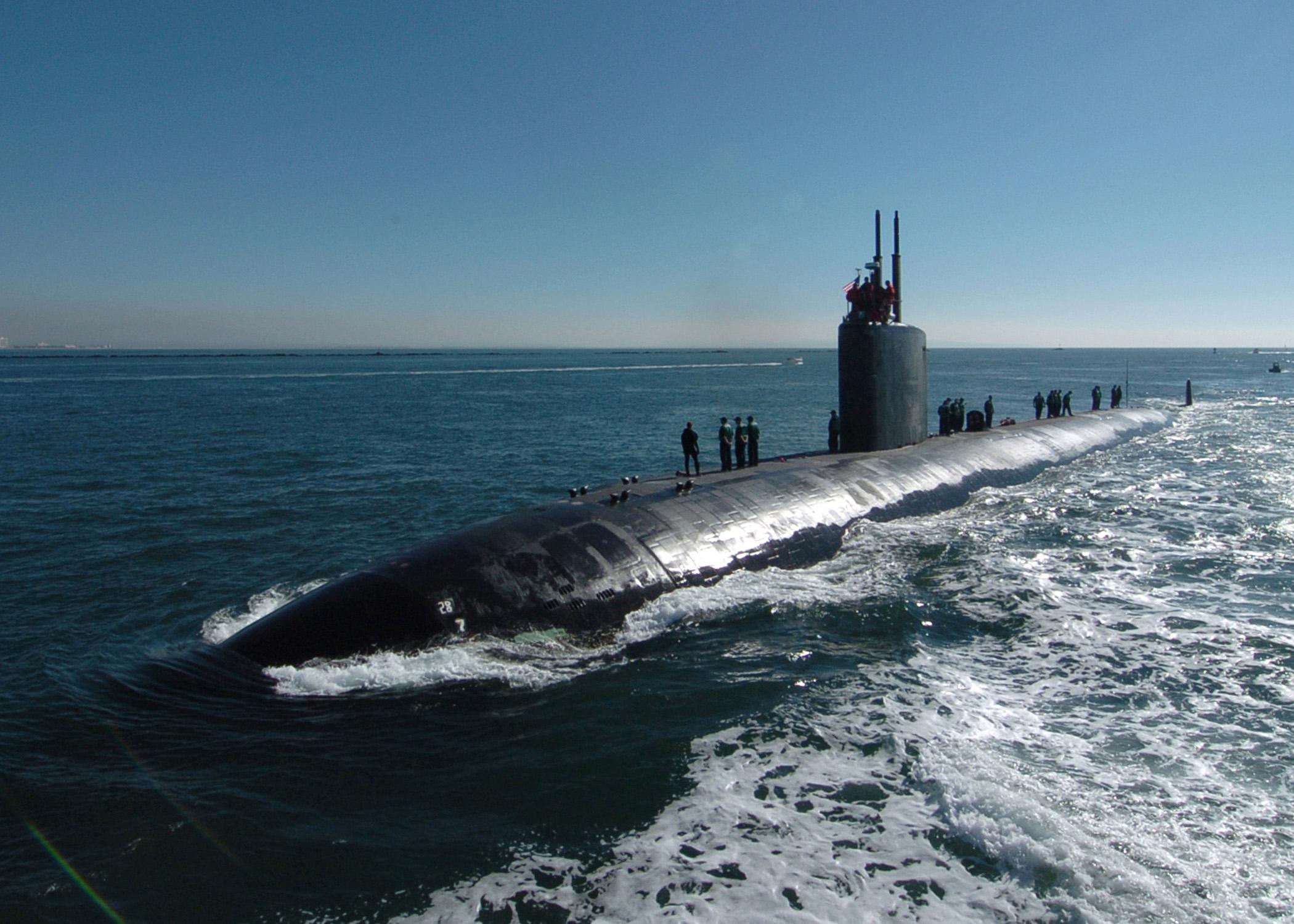 USS TOPEKA SSN-754 Bild: U.S. Navy