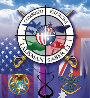 Logo Exercise Talisman Saber 2013Grafik: Australisches Verteidigungsministerium