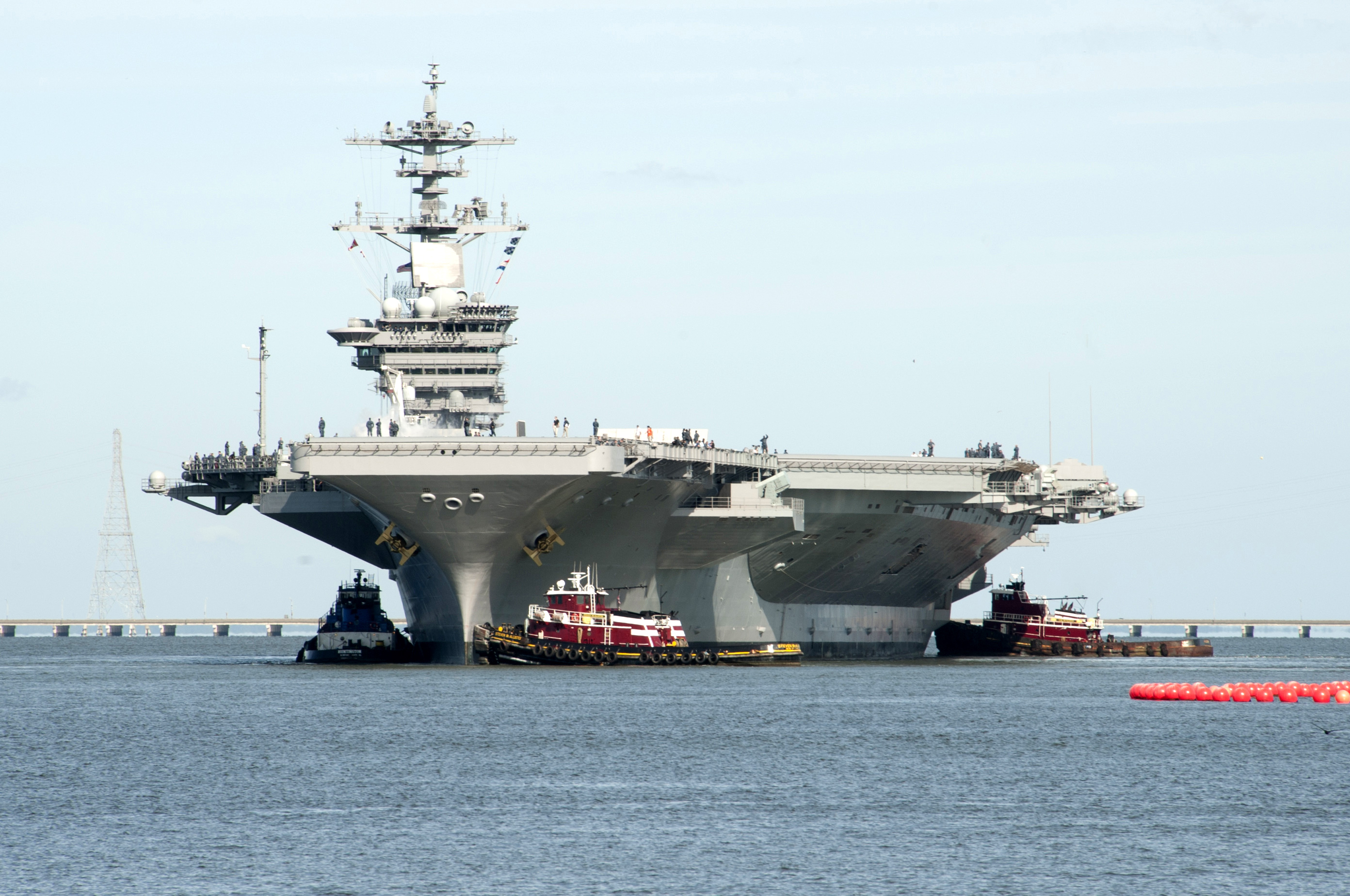 USS THEODORE ROOSEVELT CVN-71 am 25.08.2013Bild: U.S. Navy