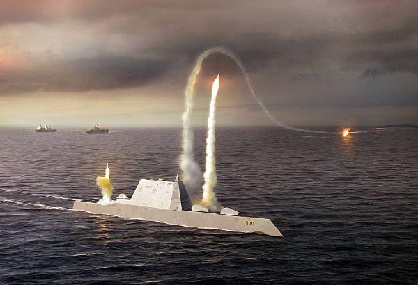 USS ZUMWALT DDG-1000 künstlerische DarstellungGrafik: U.S. Navy