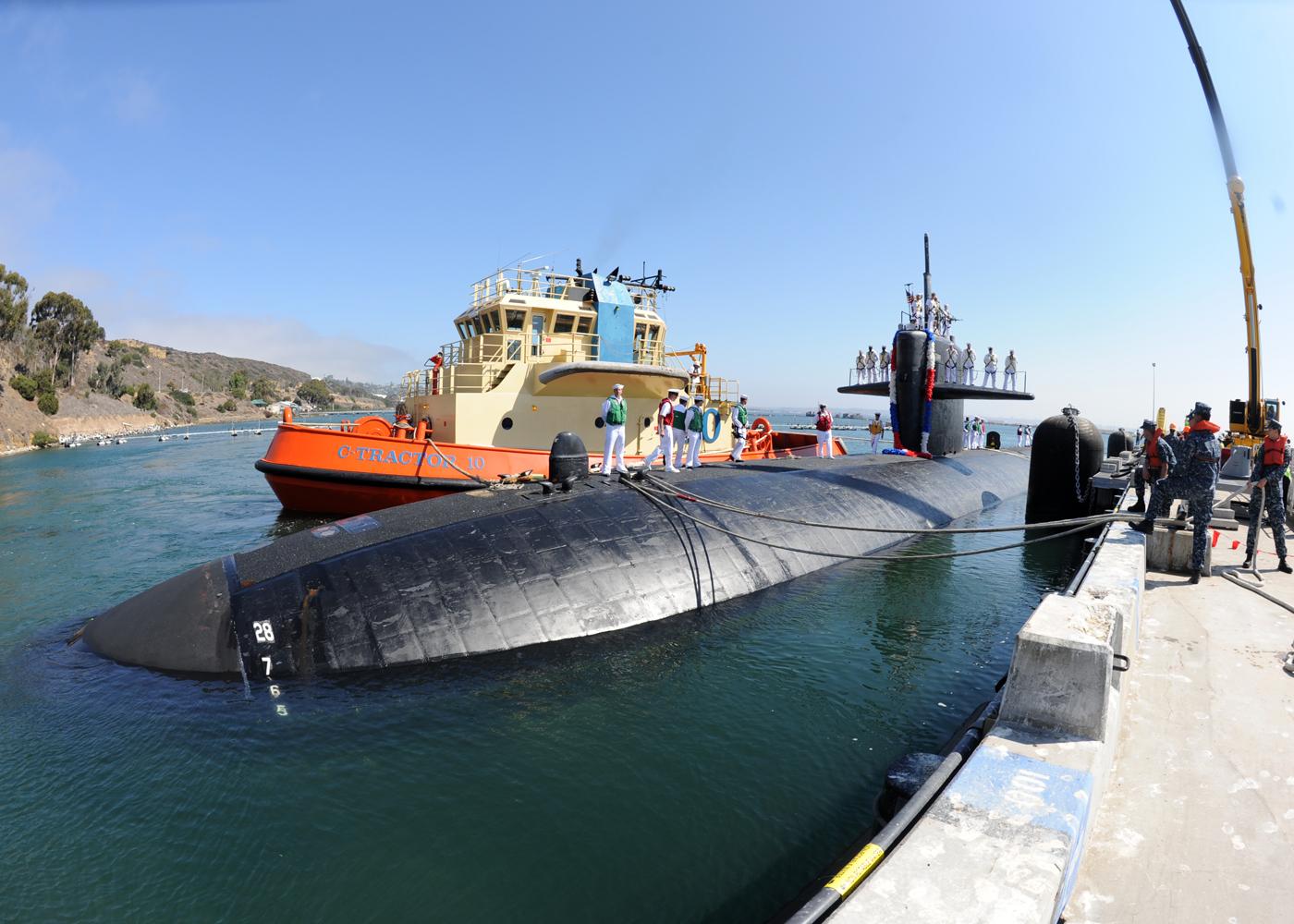 USS ALBUQUERQUE SSN-706 San Diego 21.08.2013Bild: U.S. Navy